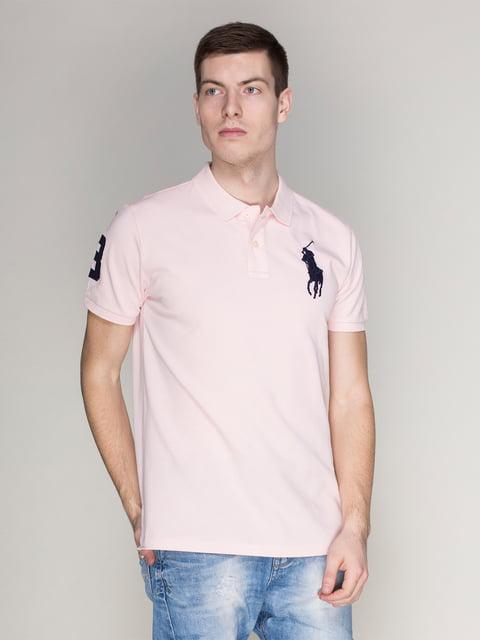 Футболка-поло рожева Polo Ralph Lauren 4113116