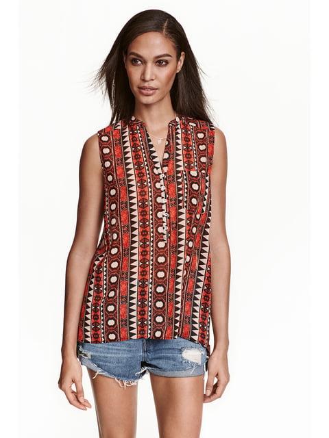 Блуза красная H&M 4122051