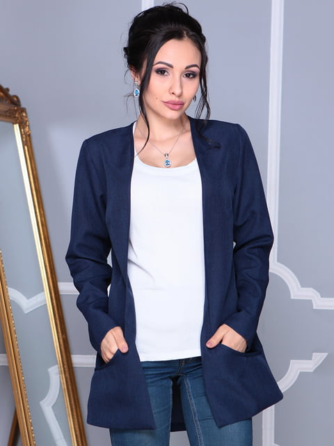 Кардиган темно-синій Laura Bettini 4127920