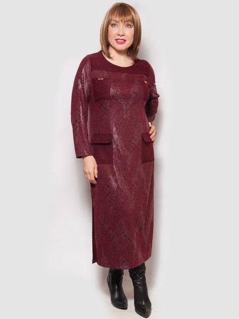 Платье бордовое LibeAmore 4132122