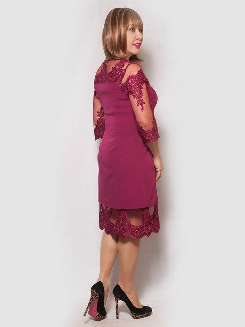 Платье бордовое LibeAmore 4132134