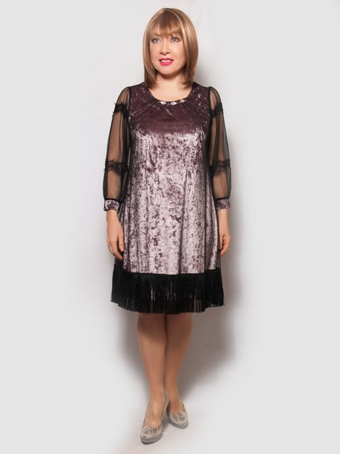 Платье цвета пудры LibeAmore 4132148