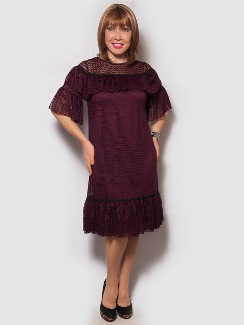 Сукня бордова LibeAmore 4132159