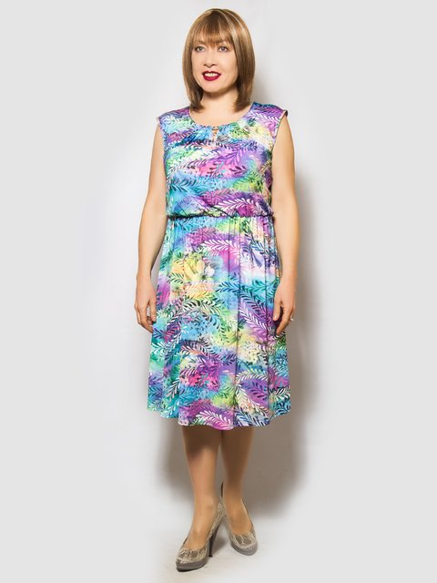Платье в принт LibeAmore 4132182