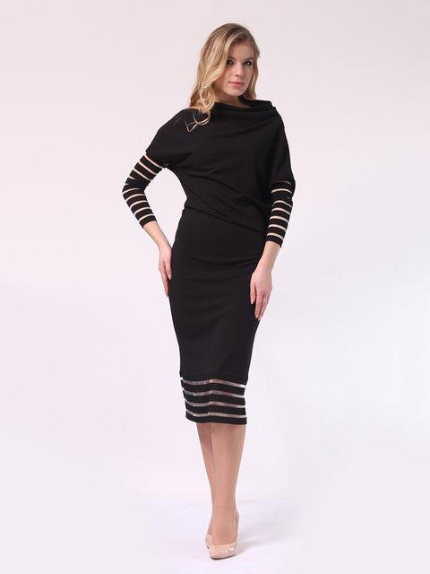 Платье черное LILA KASS 4133366
