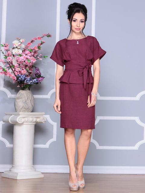 Сукня темно-сливова Rebecca Tatti 4134705