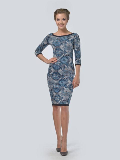 Платье в принт LILA KASS 4133104