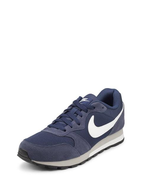 Кроссовки синие Md Runner 2 Nike 4135415