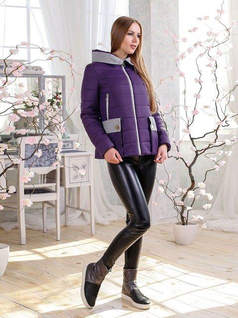 Куртка темно-фиолетовая Favoritti 4135166