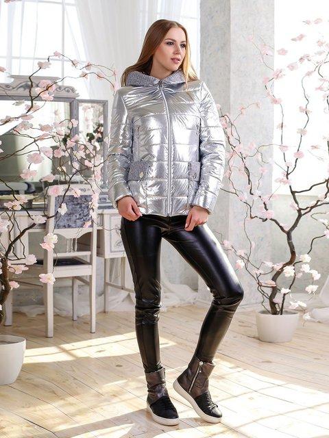 Куртка серебристая Favoritti 4135168