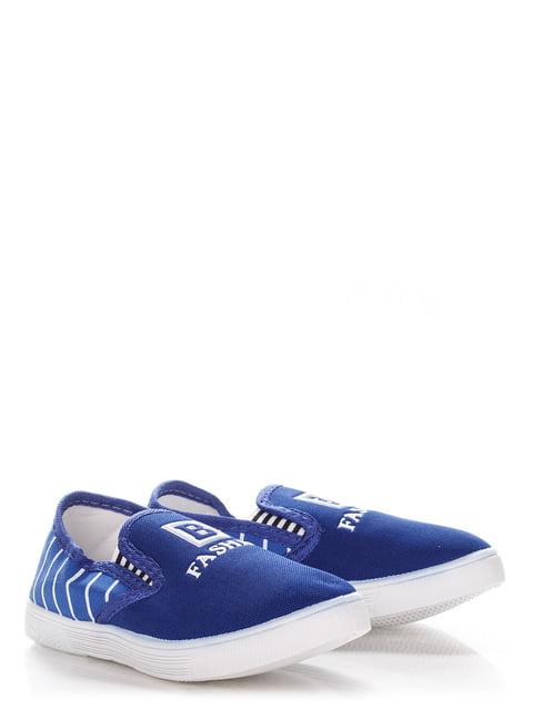 Слипоны синие Farasion 3635265