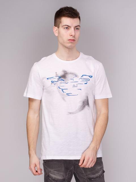 Футболка біла Armani Jeans 3411411
