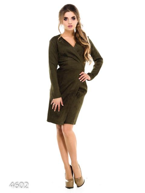 Платье цвета хаки Magnet 3977266