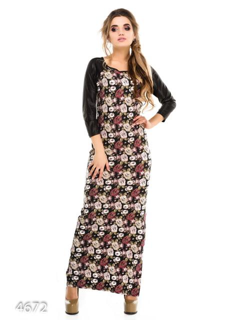 Платье в принт Magnet 3977375