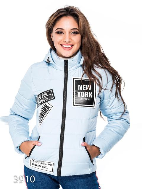 Куртка голубая Magnet 3977485