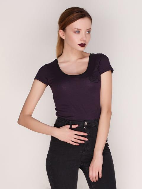 Футболка фіолетова Armani Jeans 2098995