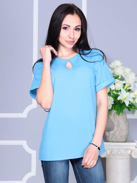 Блуза голубая Dioni 4137088