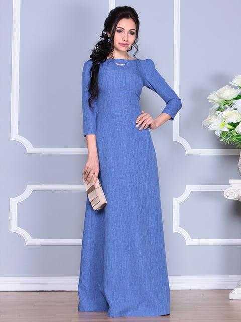 Платье синее Maurini 4137097