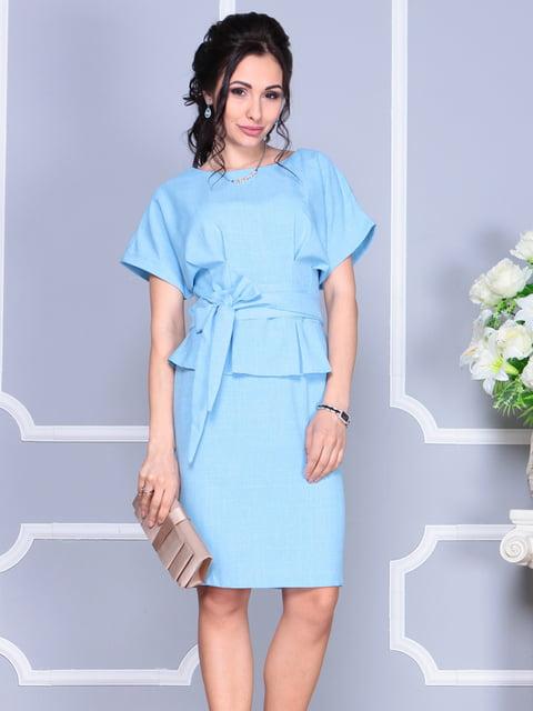 Сукня блакитна Rebecca Tatti 4137100