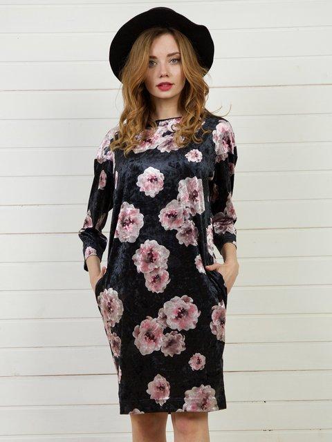 Платье в цветочный принт Jet 4141273