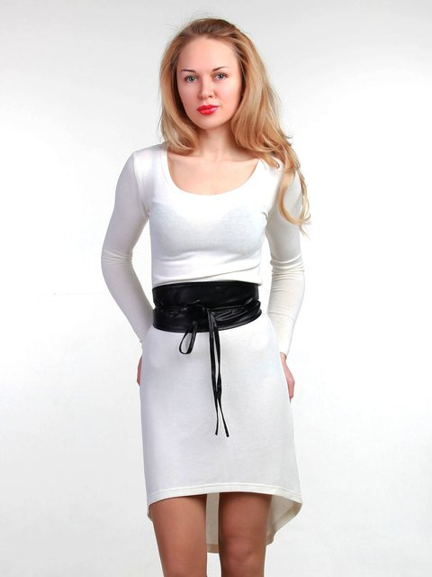 Платье молочного цвета MOONLIGHT 3823430
