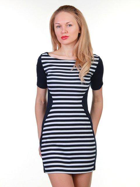 Сукня синьо-біла в смужку MOONLIGHT 3823437