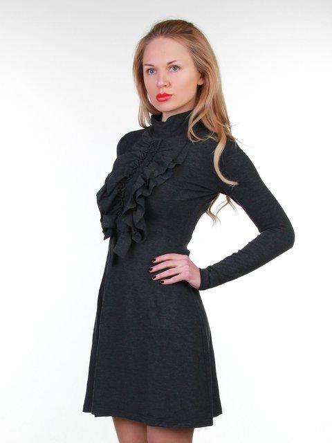 Сукня темно-сіра MOONLIGHT 3823459