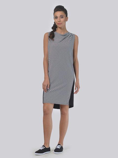 Платье черно-белое в полоску AGATA WEBERS 4142107