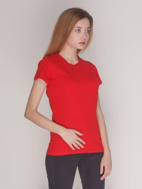 Футболка красная Роза 4137529