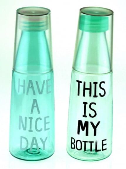 Пляшка My Bottle зі склянкою Веселі подарунки 4141368