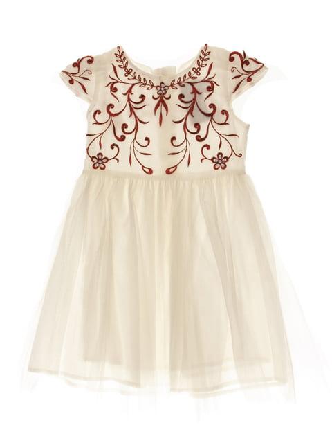 Сукня біла з малюнком CATMIKO kids 4103339