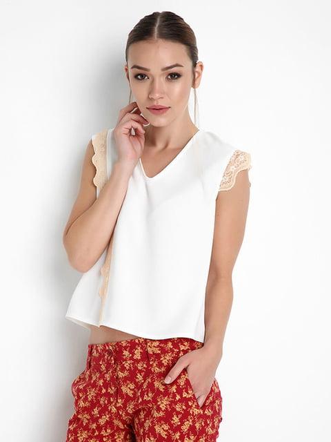 Блуза белая Jus de Pommes 4151324