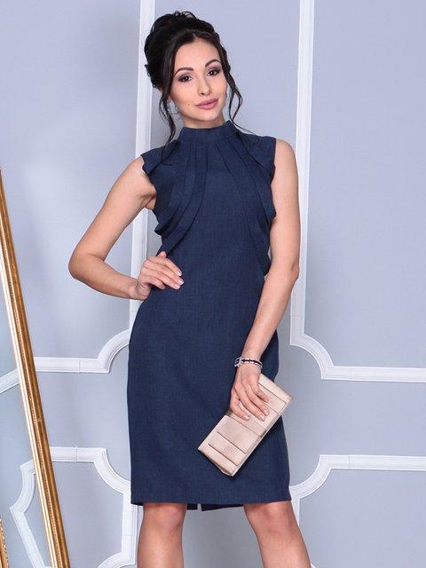 Сукня темно-синя Laura Bettini 4152464