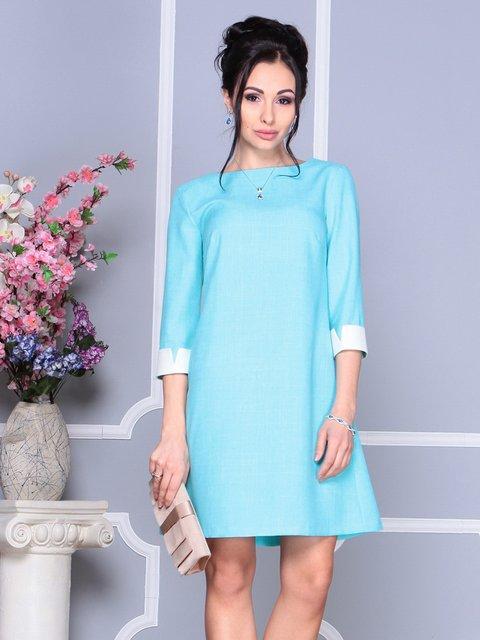 Сукня світло-бірюзова Laura Bettini 4152470