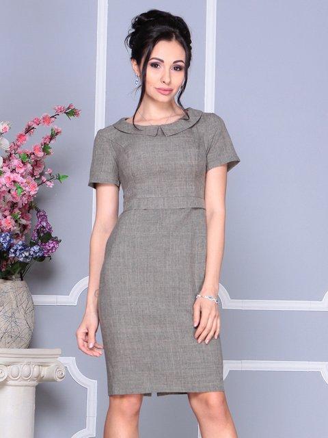 Сукня кольору бежевий хакі Laura Bettini 4152473