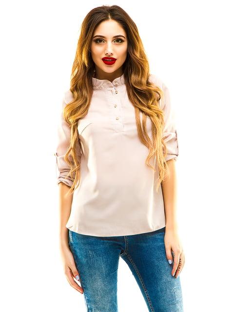 Блуза бежевая Exclusive. 4155043