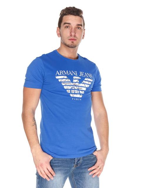 Футболка синя Armani Jeans 4129197