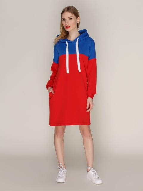 Платье красное Loca 4144196