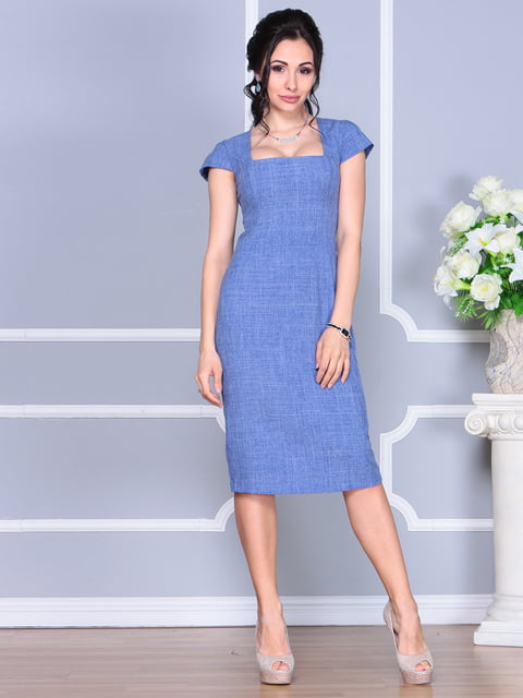 Платье синее Laura Bettini 4156785