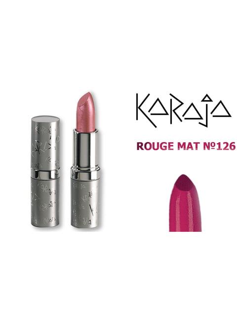 Помада для губ Rouge Mat — тон № 126 (3,5 мл) Karaja 3999508