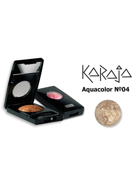 Тіні для повік Aquacolor — тон № 04 (1,2 г) Karaja 3999645