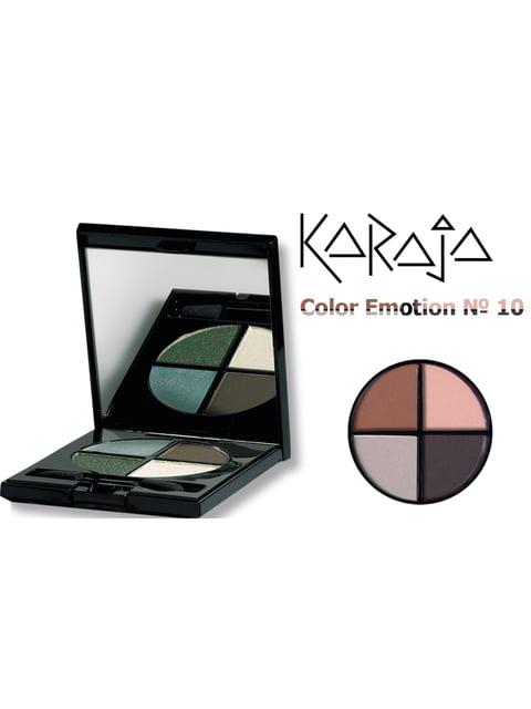 Тіні для повік Color Emotion - тон № 10 (6 мл) Karaja 3999664
