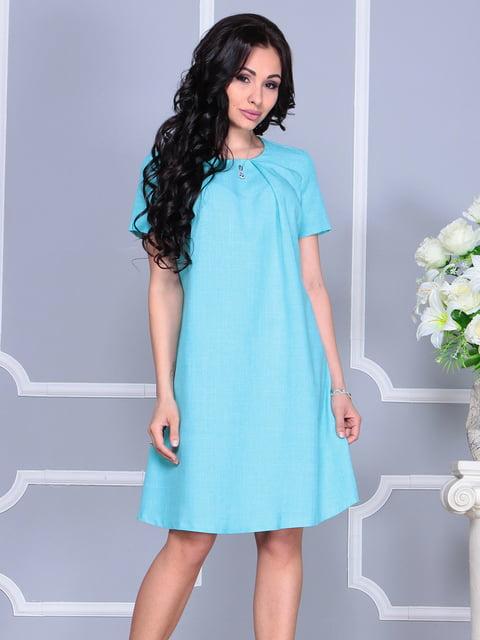 Платье ментоловое Dioni 4160894