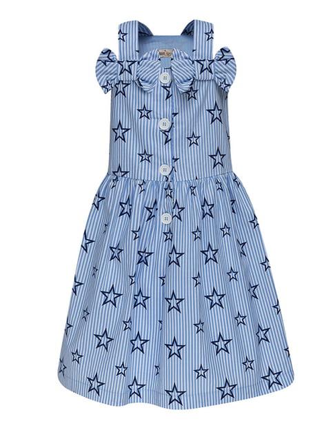 Платье голубое Boom Clap 4165485