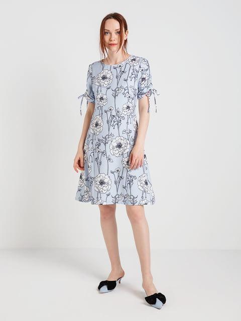 Платье в цветочный принт BGN 4168110