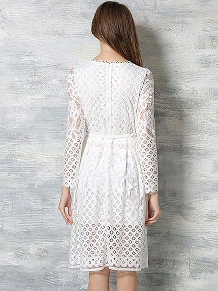 Платье белое Maxidress 4166341