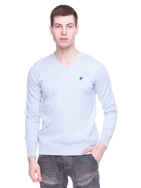 Пуловер блакитний DENIM CULTURE 3791168