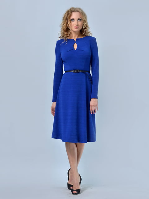 Платье цвета электрик LILA KASS 4170148