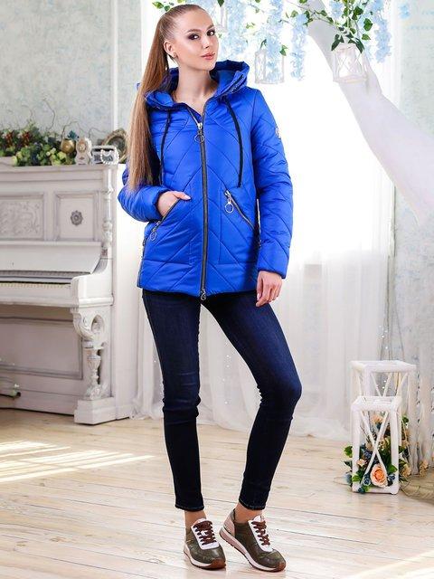 Куртка цвета электрик Favoritti 4176353
