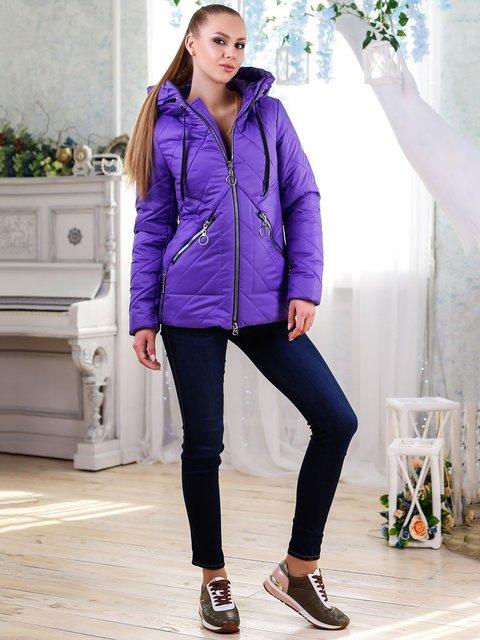 Куртка сіро-синя Favoritti 4176356